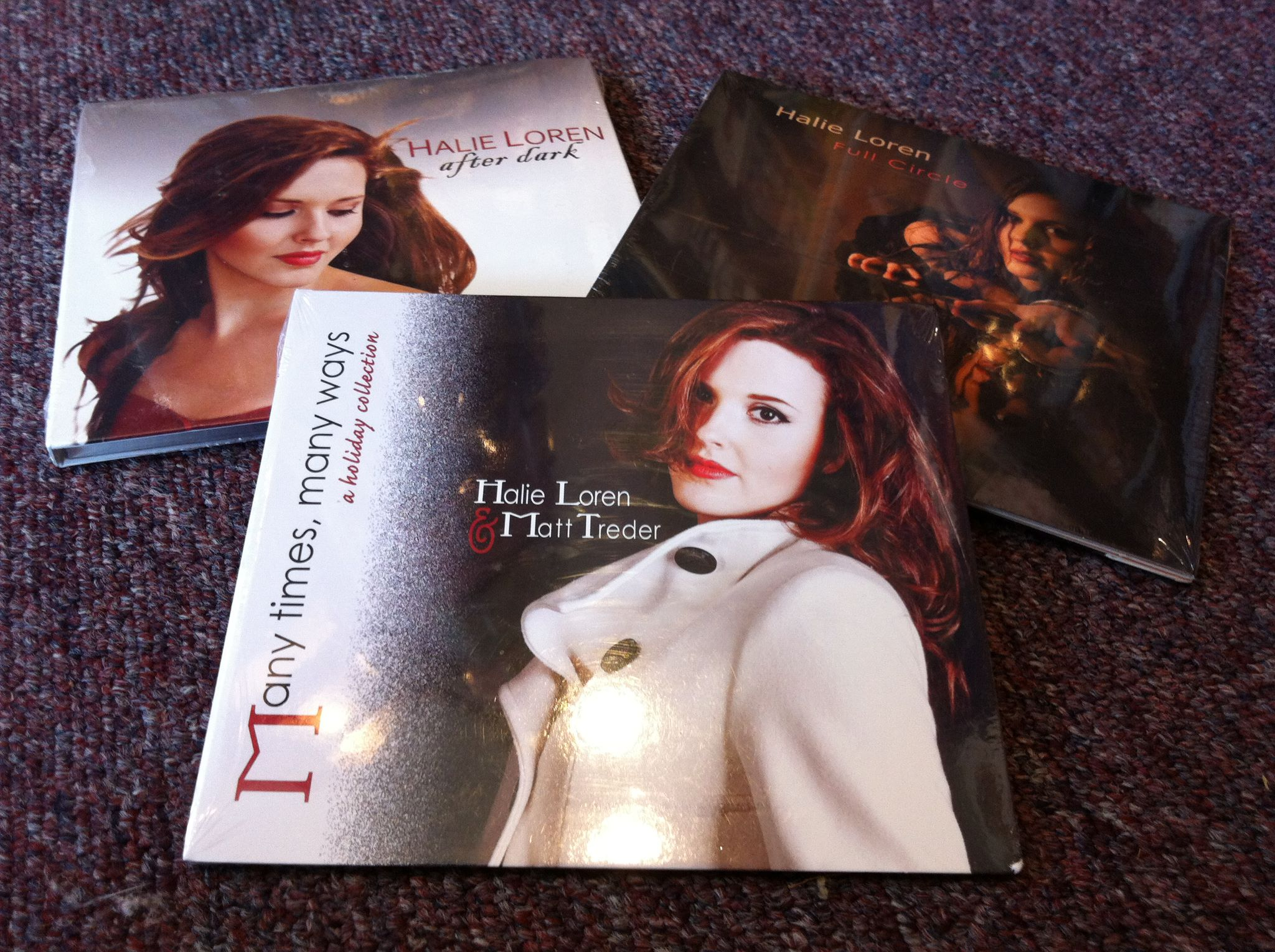 Halie Loren's CDs